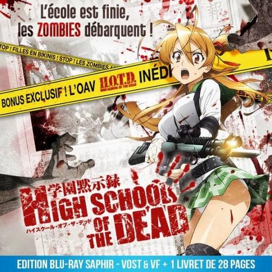 High School Of The Dead, Dybex, Actu Japanime, Japanime, Black Box, Edition Saphir,