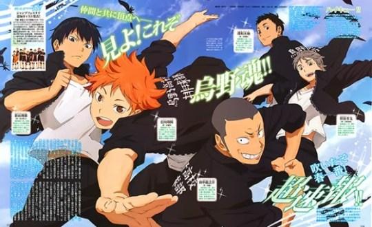 Haikyu, Actu Japanime, Japanime, Kishimoto Taku, Production IG, Mitsunaka Susumu, Haruichi Furudate,