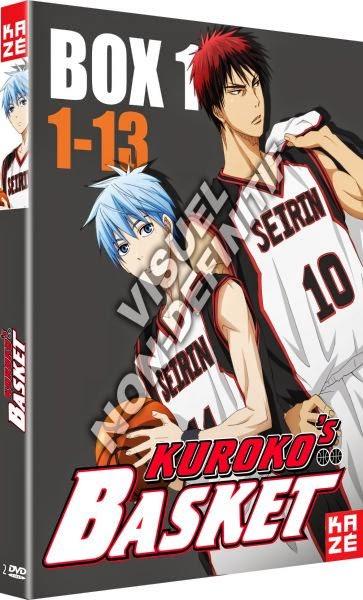 Actu Japanime, DVD, Japanime, Kazé, Kuroko's Basket,