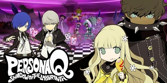Persona Q : Shadow of the Labyrinth, Atlus, Actu Manga, Manga,