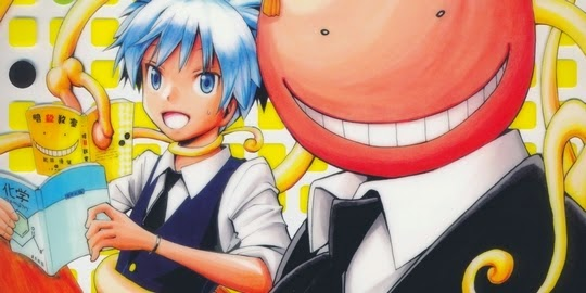 Actu Manga, Assassination Classroom, Critique Manga, Kana, Manga, Shonen, Shonen Jump, Shonen Manga, Yusei Matsui,