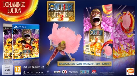 Actu Jeux Video, Actu Jeux Vidéo, Bandai Namco, Bandai Namco Games, One Piece, One Piece : Pirate Warriors 3, PlayStation Network, PS3, PS4,
