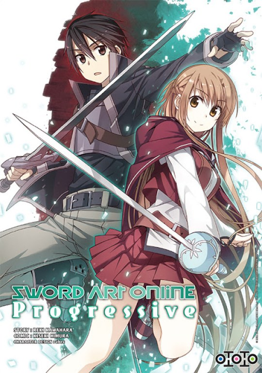 Actu Manga, Manga, Ototo, Sword Art Online, Sword Art Online : Progressive,