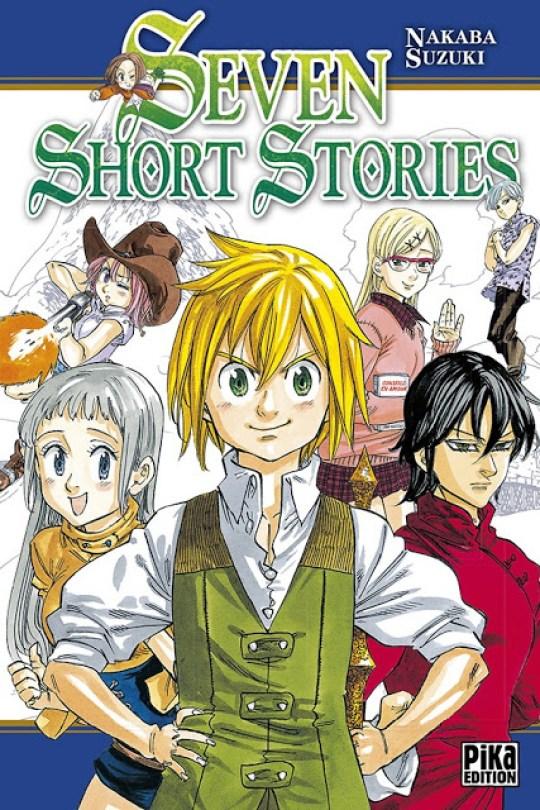 Seven Short Stories, Pika Edition, Nakaba Suzuki, Manga, Actu Manga,