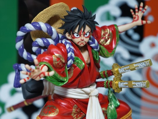 Monkey D. Luffy – Excellent Model – Portrait of Pirates KABUKI-EDITION, Actu Goodies, Goodies, One Piece, Megahouse,