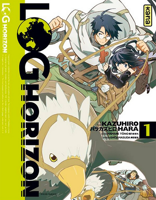 Log Horizon, Tôno Mamare, Manga, Actu Manga,