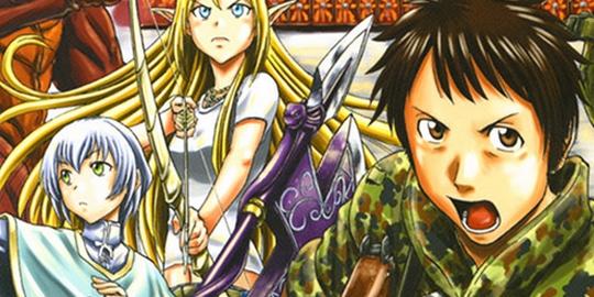 Actu Manga, Gate - Au-delà de la Porte, Manga, Ototo,