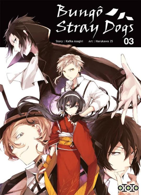 Actu Manga, Bungo Stray Dogs, Mangas, Opération éditeur, Ototo, Seinen,
