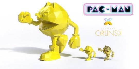 Actu Goodies, Art, Bandai Namco, Collector, Kickstarter, Neamedia, Pac-Man, Pac-Man 37 Anniversary, Richard Orlinski, Jeux Vidéo,