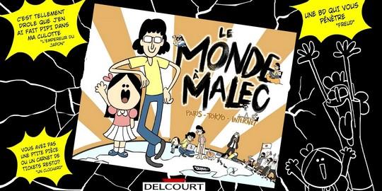 Critique Manga, Delcourt, Japon, Manga, Le Monde à Malec,