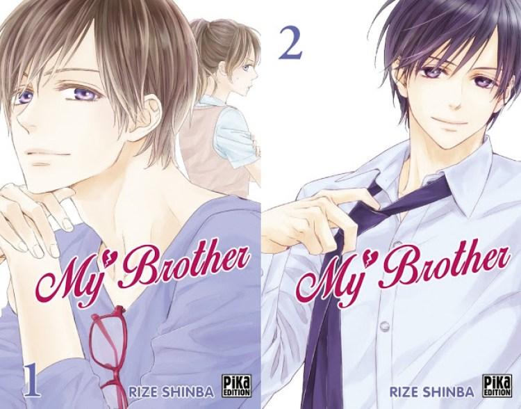 My Brother, Pika Édition, Rize Shinba, Manga, Actu Manga,