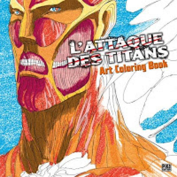 L'Attaque des Titans - Art Coloring Book, Critique Manga, Manga, Pika Édition, Chollet Sylvain, Hajime Isayama,