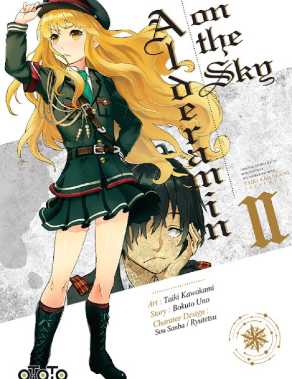 Actu Manga, Alderamin on the sky, Bungo Stray Dogs, Manga, Ototo, Seinen,