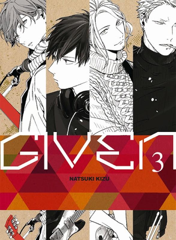 Actu Manga, Color Recipe, Given, Kuroneko - Le doute, Manga, My Number One, Ogeretsu Tanaka, Taifu, Yaoi,