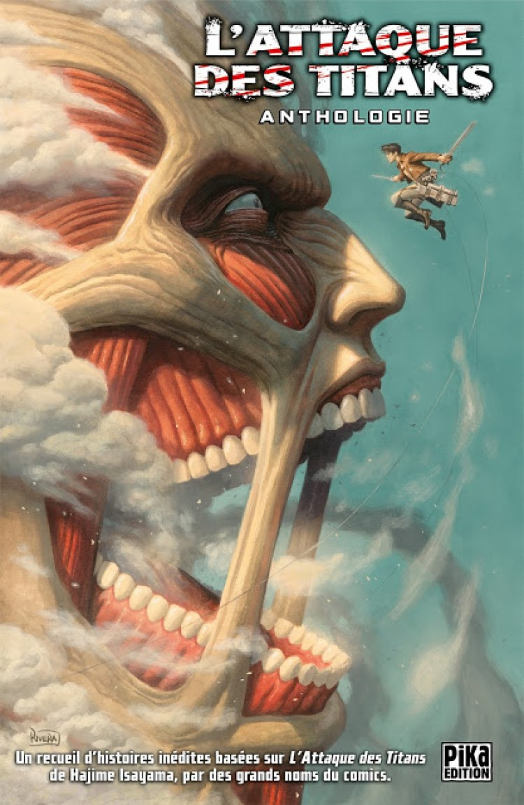 L'Attaque des Titans Anthologie, Manga, Actu Manga, Scott Snyder, Rafael Albuquerque, Brenden Fletcher, Gail Simone, Paolo Rivera, Pika Édition,