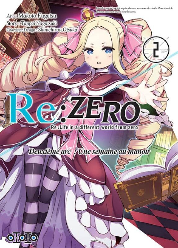 Actu Manga, Manga, Ototo, Re:Zero - Re:Life in a Different World From Zero, Re:Zero – Re:Life in a different world from zero – Deuxième arc : Une semaine au manoir,