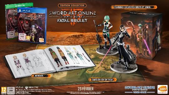 Actu Jeux Vidéo, Bandai Namco Games, Dimps, Playstation 4, Steam, Sword Art Online : Fatal Bullet, Xbox One, Jeux Vidéo,