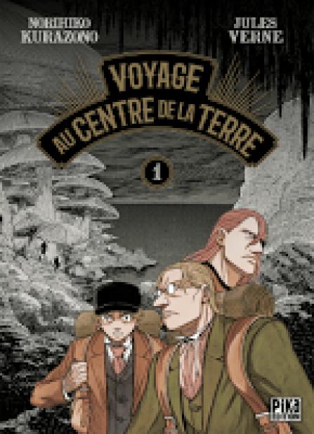 Norihiko Kurazano, Jules Verne, Pika Édition, Manga, Actu Manga,