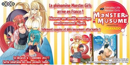 Actu Manga, Manga, Monster Musume, Ototo, Shonen,