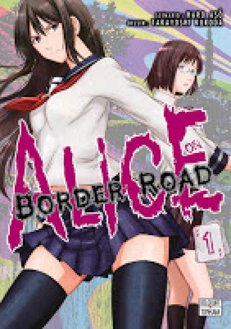 Alice on Border Road, Takayoshi Kuroda, Haro Aso, Manga, Critique Manga, Delcourt / Tonkam,