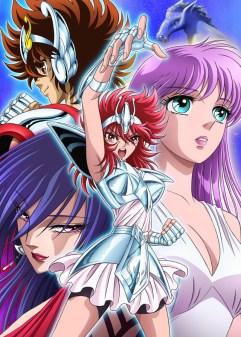 L'adaptation en anime de Saint Seiya : Saintia Shô débutera en 2019