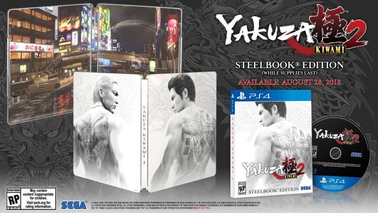 Le Steel Book de Yakuza Kiwami 2! Plus d'actus sur Nipponzilla, votre information jeux video, anime et manga !!