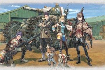 La scène d'intro de Valkyria Chronicles 4 ! Plus d'infos sur Nipponzilla !