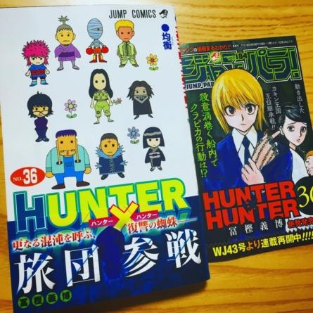 Une nouvelle pause pour Hunter x Hunter