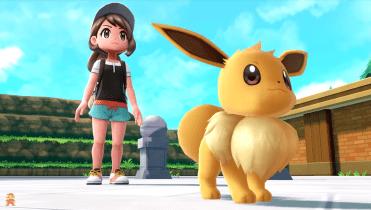 Pokémon Let's Go Pikachu - Evoli