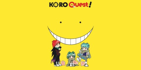 Koro Quest !, Koro sensei quest, Koro-sense Q!, Koro-sense Quest!, 殺せんせーQ!, Jo Aoto, Kizuku Watanabe, Saikyo Jump, Shueisha, Anime Digital Network, Kana, Assassination Classroom, Manga, Anime, Studio Lerche, Résumé, Critique, News, Personnages, Citations, Récompenses