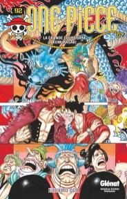 One Piece, ワンピース, Weekly Shônen Jump, Shûeisha, Glénat, Eiichiro Oda, One Piece Stampede, Kana Home Video, Anime, Film, Cinéma, Film d'animation, Japanime, Toei Animation, Manga, Résumé, Critique, News, Personnages, Citations, Récompenses