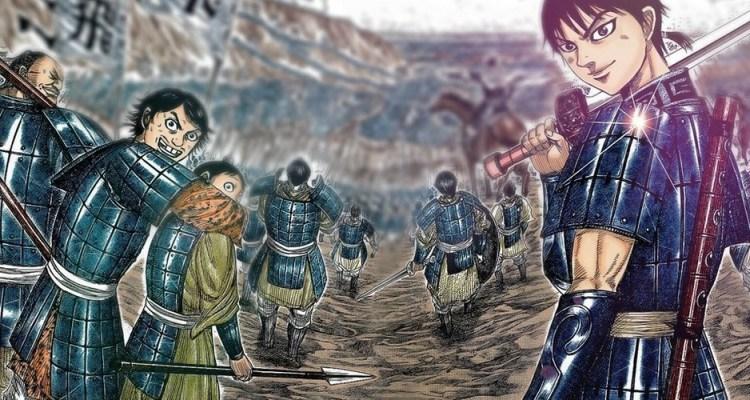 Kingdom Manga Pause Nouvel Arc Yasuhisa Hara Shueisha Weekly Young Jump Meian