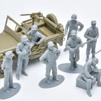 花金だ!仕事帰りに買うプラモ#005/タミヤ 1/48 WWIIアメリカ歩兵前線休息セット