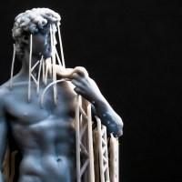 3Dプリンタで作ったミケランジェロのダビデ像を舐めるように見てたら惚れた話