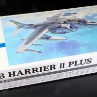 ハセガワ1/72飛行機模型ピックアップ/プラモで楽しむジャンプジェットの響き!AV-8B ハリアーIIプラス!!