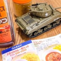 塗って剥がして楽しむプラモの色調ブレンド効果/GABAN 手作りのカレー粉セット
