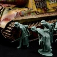 ピックアップ・タミヤMMフィギュア! 極寒を経験したドイツ歩兵がカムバック!「ドイツ陸軍 冬季装備歩兵 進撃セット」。