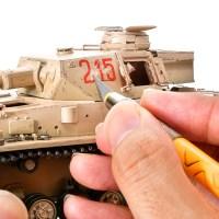 楽しすぎてやめられないとまらない!戦車プラモの「ポリポリチッピング」/アフリカと俺 2021 「タミヤ ドイツIV号戦車G型初期生産車」