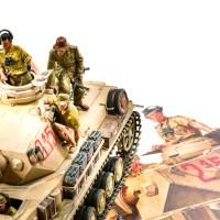 タミヤが提示する「フィギュア塗装の入り口」/アフリカと俺 2021 「タミヤ ドイツIV号戦車G型初期生産車」