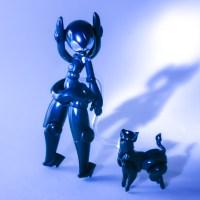 ふたつのかわいいを一緒に楽しむプラモデル!黒ネコ×漆黒ガール