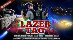 Virtual Reality Lazer Tag