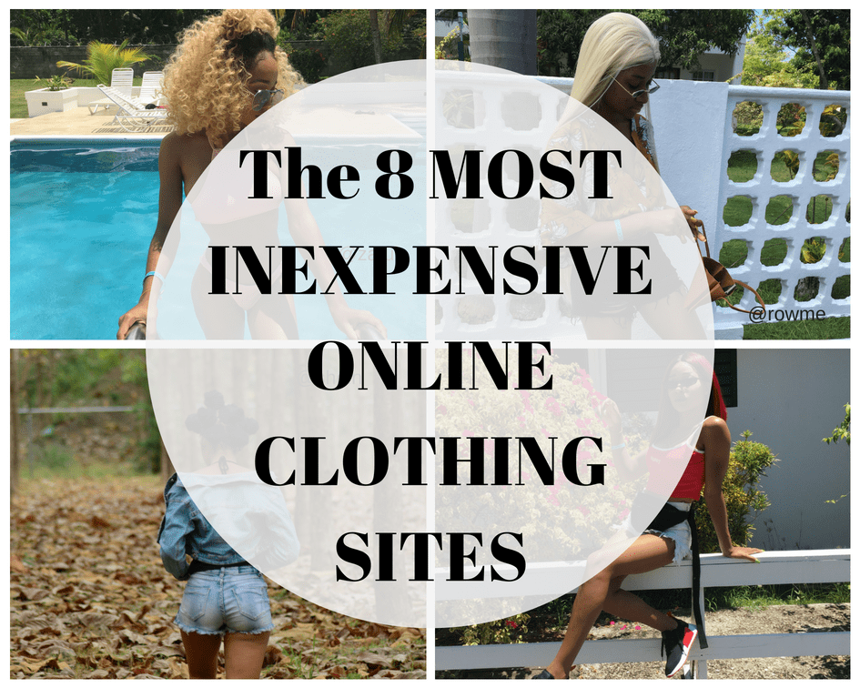 8 MOST Affordable Online Clothing Stores
