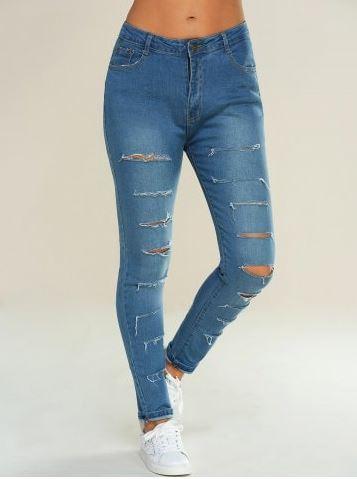 rosegal jeans pants