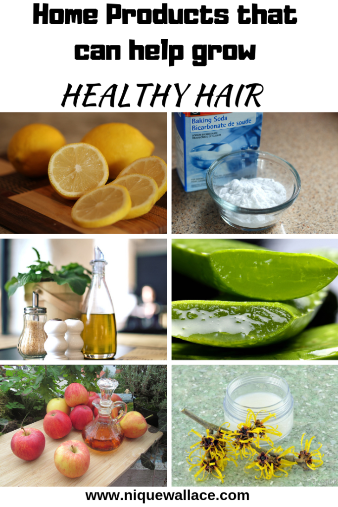 HOME PRODUCTS TO GROW Healthy hair -niquesbeauty