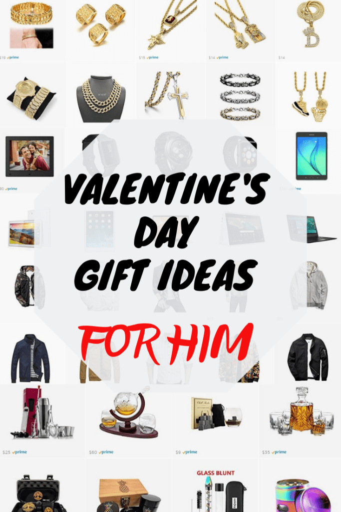 VALENTINES DAY GIFT ODEAS FOR HIM - NIQUE WALLACE