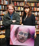 Michel-Houellebecq, Andreea Niram con retrato de Rita Martorell