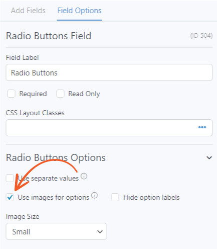 how to add images to your polls - formidable forms - radio buttons