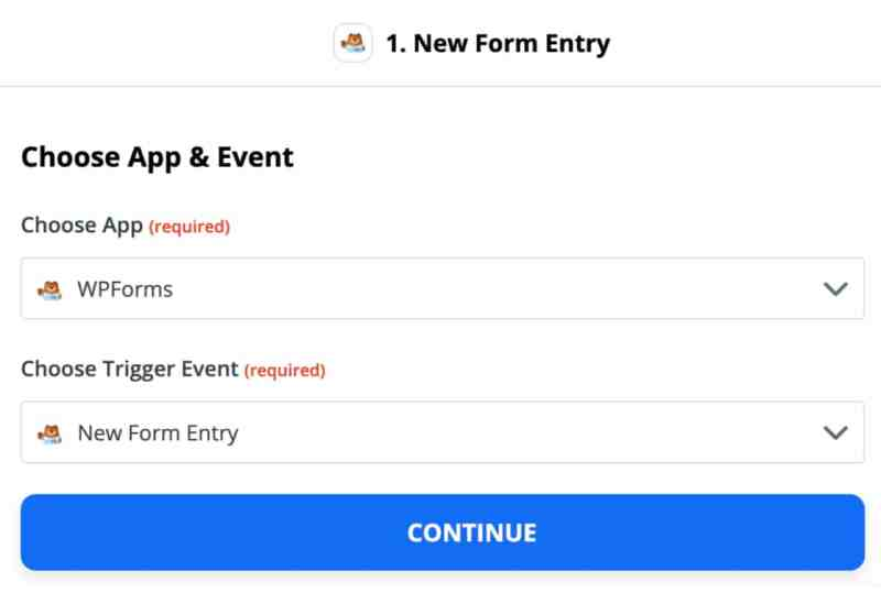 How To Automate Your Work With Zapier And WPForms - Trigger options