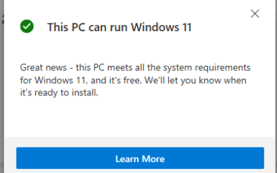 How to check if it's your pc supports Windows 11
