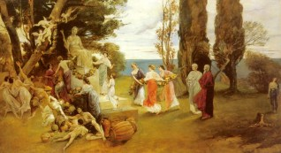 Friedrich August von Kaulbach's In Arcadia
